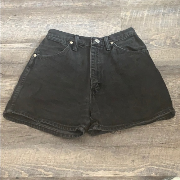 Wrangler Pants - Vintage Wrangler High-Waisted Shorts